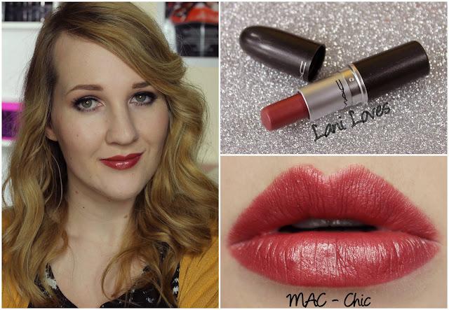 MAC Chic lipstick swatch