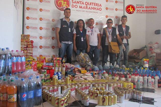 Vigilância Sanitária intensifica fiscalizações e apreende produtos vencidos em Santa Quitéria do Maranhão