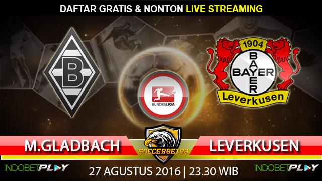 Prediksi M.Gladbach vs Leverkusen 27 Agustus 2016 (Liga Jerman)