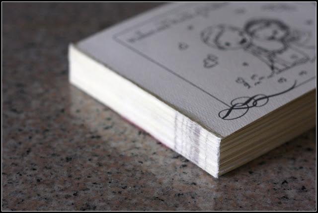 big k little g diy wedding rsvp card keepsake book tutorial