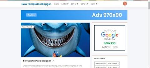 New Templates Blogger Responsive