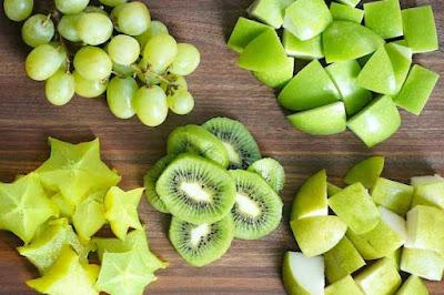 فوائد الفواكه الخضراء