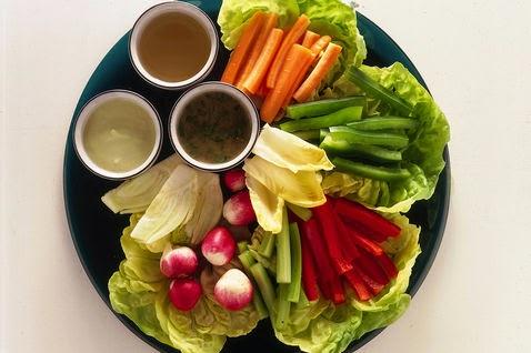 Pinzimonio de verduras (Pinzimonio di verdure)