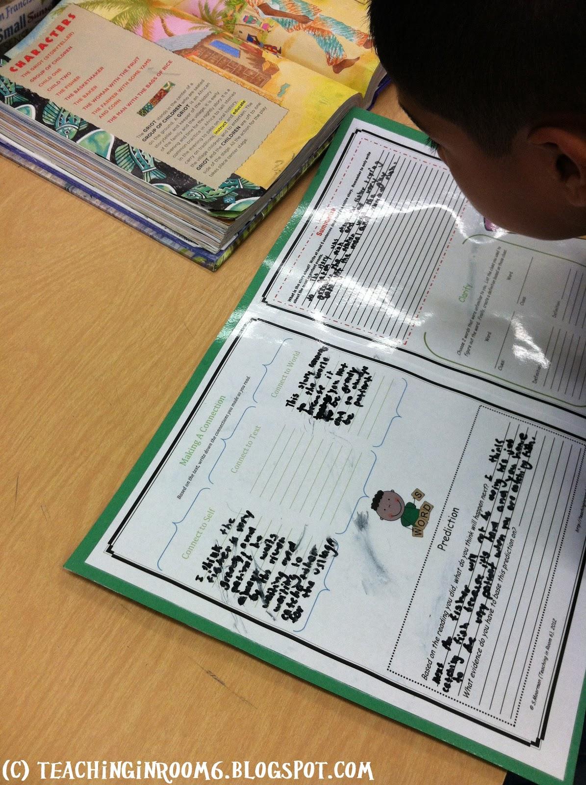 Workbooks k12 comprehension worksheets : Comprehension Mats! - Teaching in Room 6