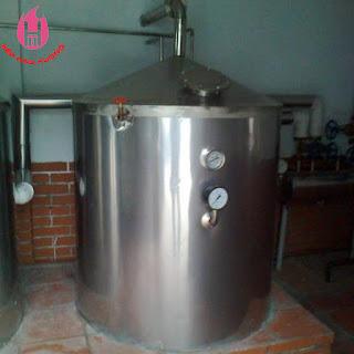 Nồi nấu rượu công nghiệp Hào Hương