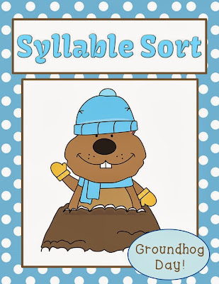 http://www.teacherspayteachers.com/Product/Syllable-Sort-Groundhog-Themed-Center-Game-for-Common-Core-730885