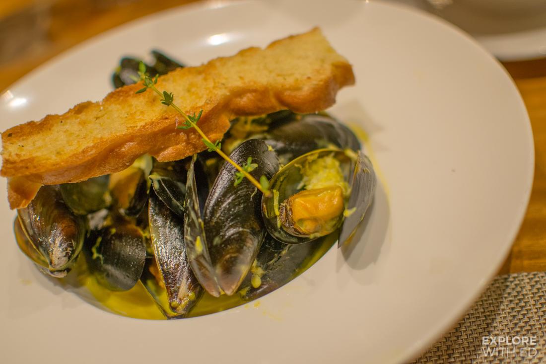Oysters Manfredi's Italian Restaurant Menu