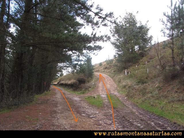 Ruta Alto Aristebano, Estoupo, Capiella Martín: Cruce de ida y vuelta