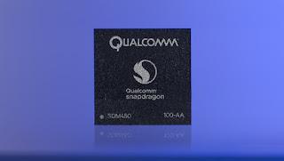 Qualcomm announced Snapdragon 450 Midrange SoC