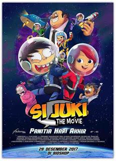 Si Juki adalah seorang selebriti yang sedang berada pada puncak ketenarannya Si Juki The Movie (2017) WEBDL