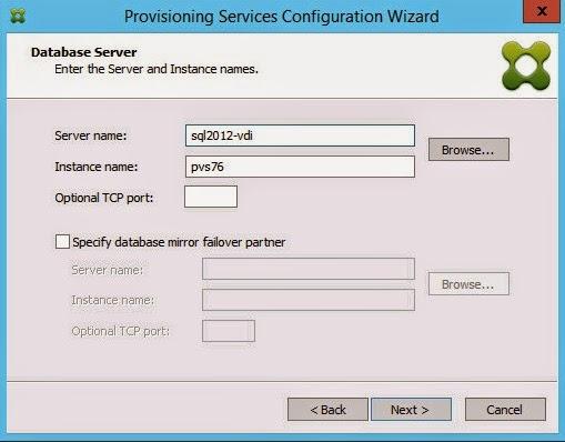 Glick's Gray Matter: Citrix PVS Configuration Error - Invalid Server
