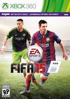 FIFA 15 (X-BOX 360) DUBLADO PT-BR JTAG/RGH