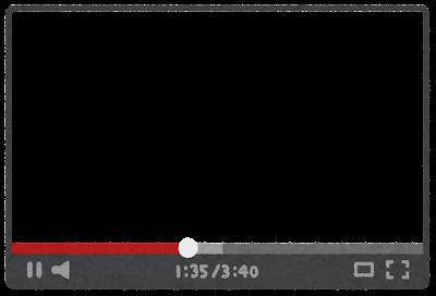 ネット動画のフレーム素材(16:9)
