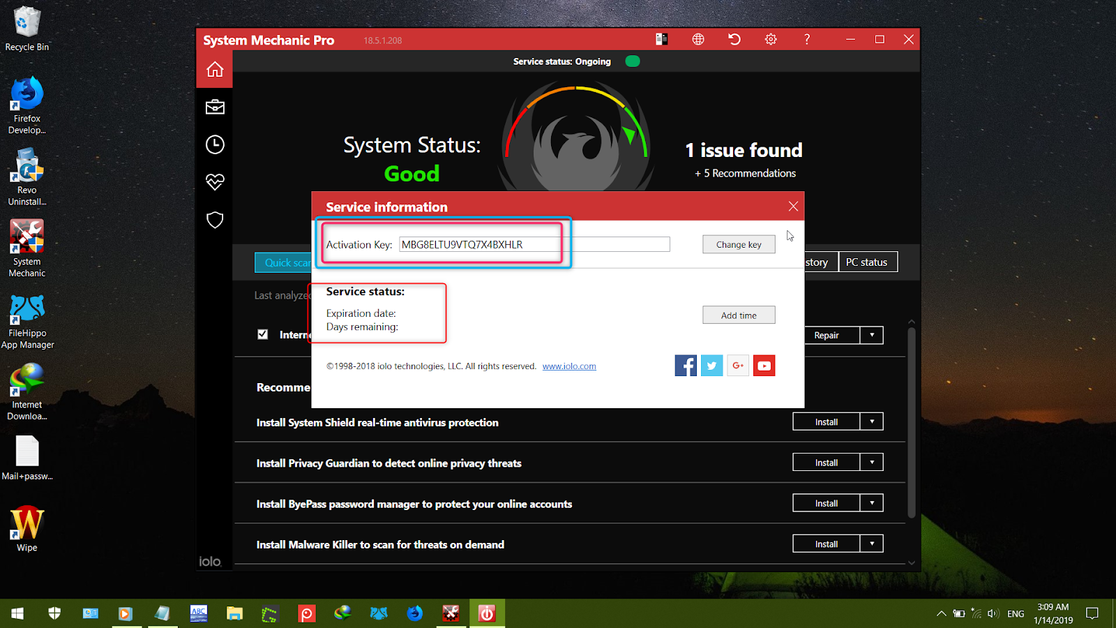 System Mechanic Aloneghost Xz System Mechanic Pro 18 5 1 208 Full Key On Going