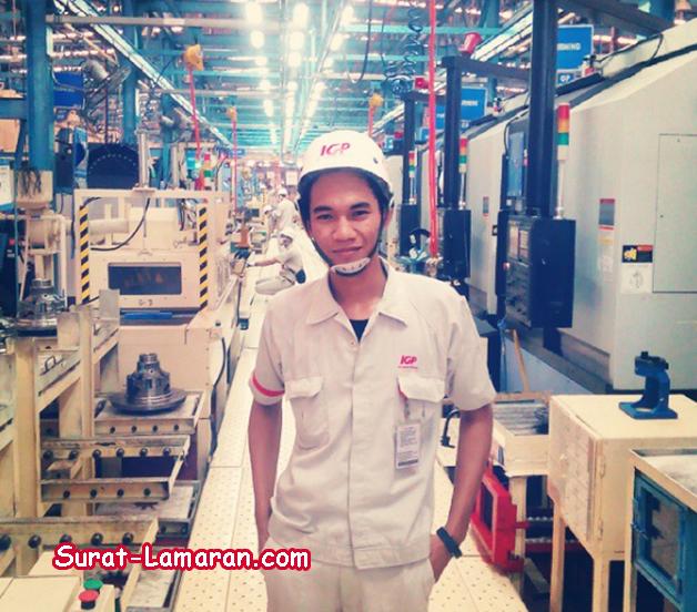 Lowongan Kerja Operator IGP (PT. Inti Ganda Perdana)