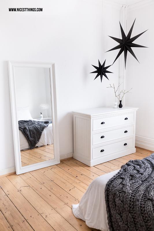 Nordic Bedroom White, Chunky Knit Throw und meine Erfahrungen mit dem Vorwerk Kobold