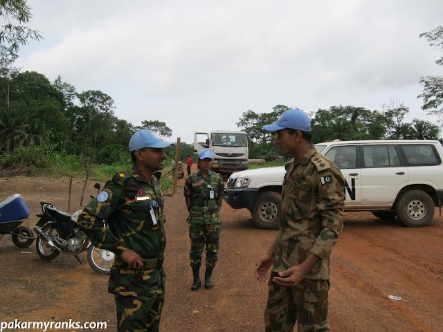 Pak army captain in UN peace mission
