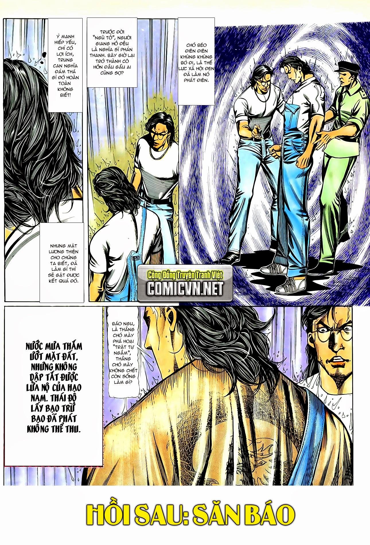 Người Trong Giang Hồ chapter 85: diệt môn trang 29