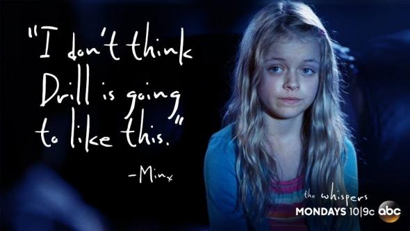 Risultati immagini per the whispers serie tv minks