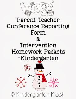 Kindergarten Kiosk: Winter Parent and Teacher Conference
