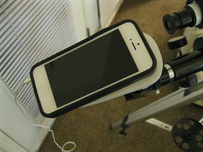 DIY Homemade iPhone Telescope Attachment Adapter Mount