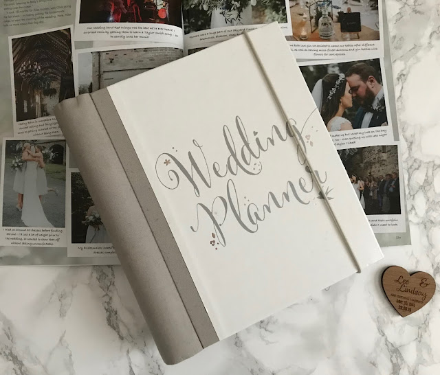 wedding planning book and magazine