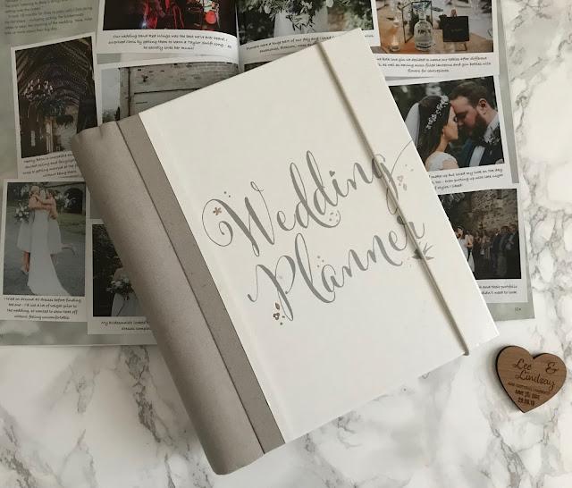 wedding planning book and magazine