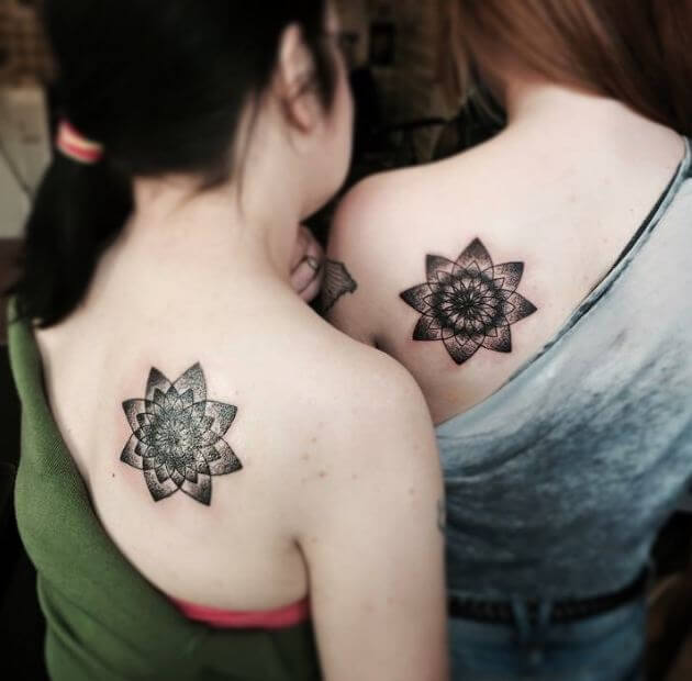 Meaningful Matching Tattoos