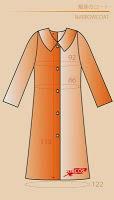 patrón de abrigo