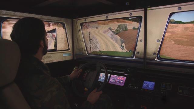 Indra suministra al Ejército 2 nuevos simuladores de conducción 4x4 para el Lince y el RG-31