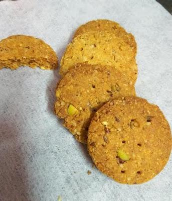 eggless lentil cookies