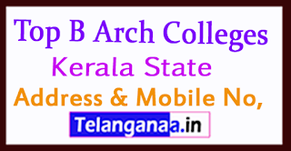 Top B Arch Colleges in Kerala