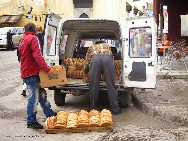 Bread, Fez, Morocco