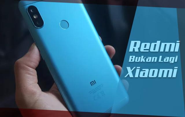 Mulai Saat Ini Redmi Bukan Lagi Xiaomi Tapi Sudah Menjadi Brand Independen