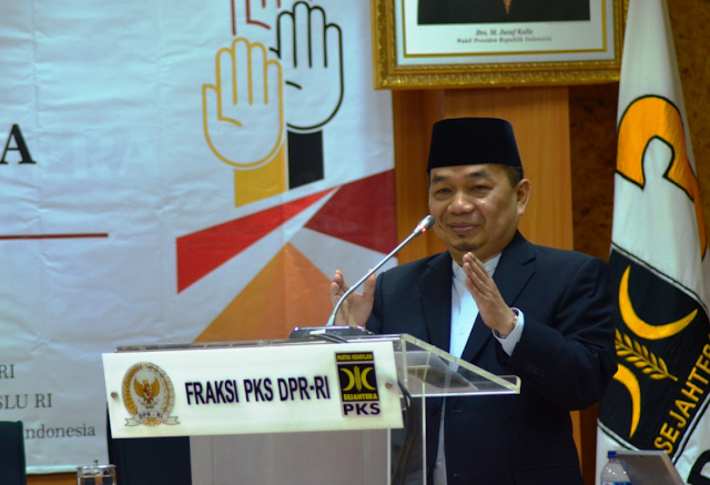 Jazuli Kerahkan Seluruh Aleg FPKS se-Indonesia Menangkan Anies-Sandi