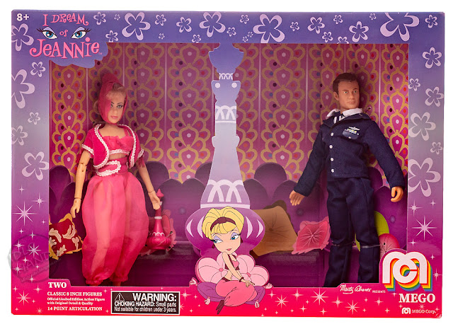 SDCC 2018 MEGO Target Exclusive Action Figures I Dream of Jeanie 2 Pack 001