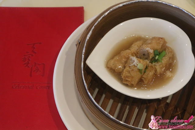 Bean Curd Rolls in Abalone Sauce