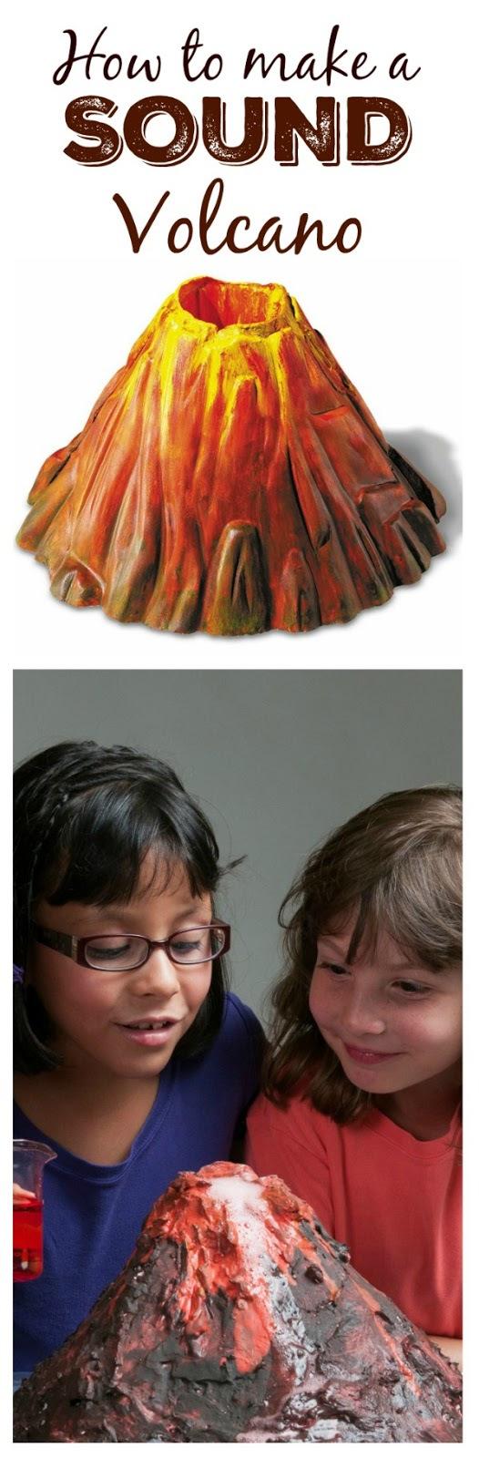 COOL SCIENCE: MAKE A POPPING, FIZZING, BUBBLING VOLCANO WITH KIDS