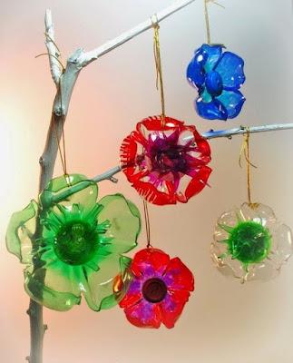 Kerajinan tangan dari botol aqua kreatif