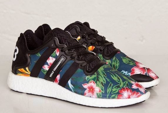 e269c0cdfeda Here is a detailed look at the adidas Y-3 Yohji Boost  Hawaiian Floral   Available Now HERE