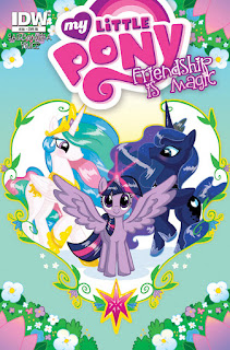 MLP Friendship is Magic 38 Comic by IDW Retailer Incentive Variant by Mary Bellamy