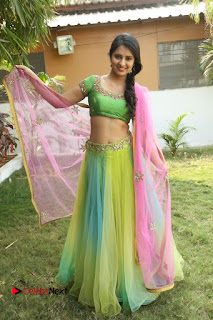 Actress Nikitha Bisht Stills in Lehenga Choli at Pochampally Ikat Art Mela Launch  0427.JPG