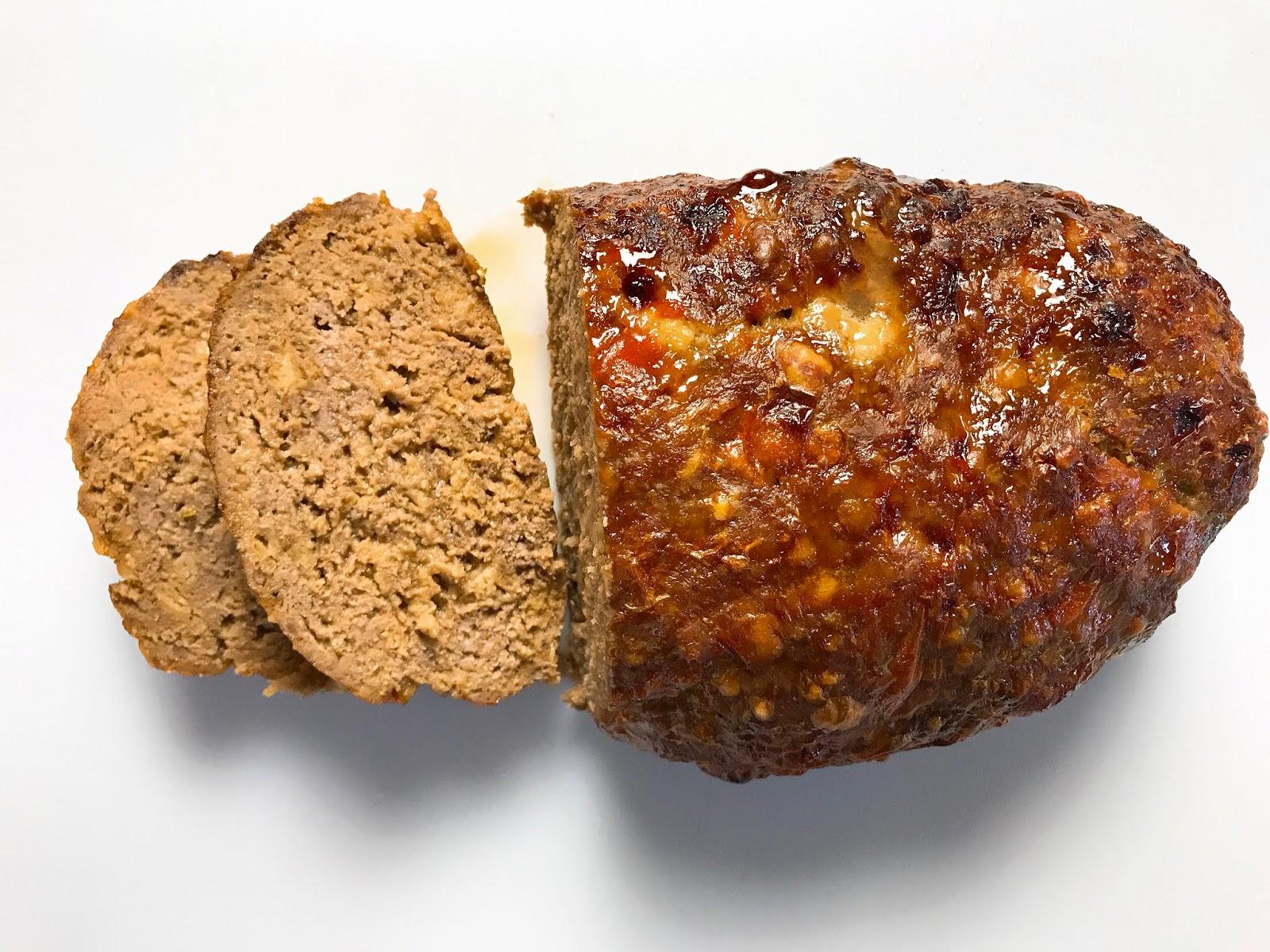 Ritz Cracker Spiked Meatloaf