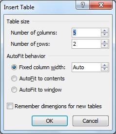 Cara membuat kolom di Microsoft word