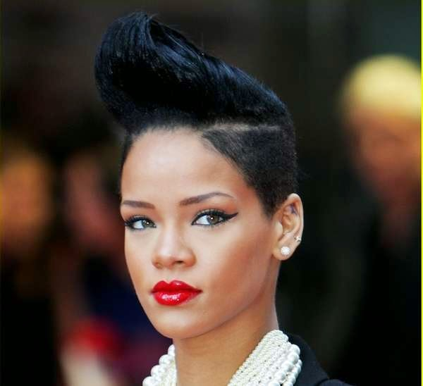 Exotic Mohawk Hairstyles For Black Women