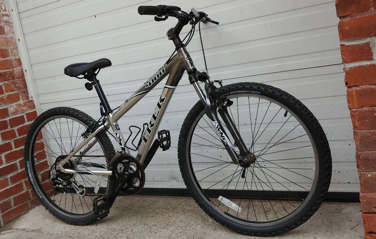 ce400daa6e7 TREK 4100 Alpha Aluminum 21 Speed Hardtail Mountain Bike - $249