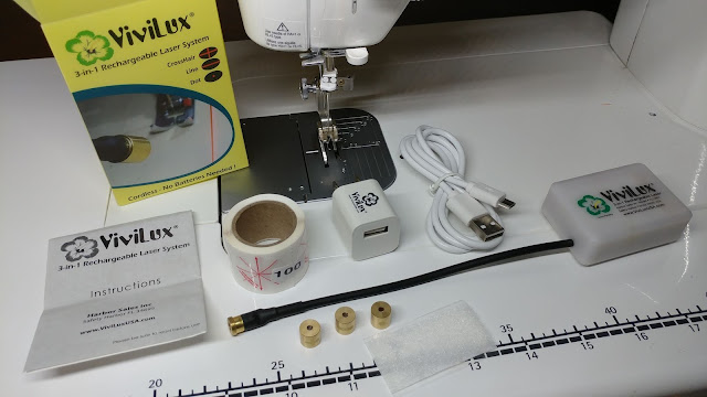 ViviLux sewing machine laser