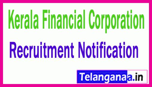 Kerala Financial Corporation KFC Recruitment Notification