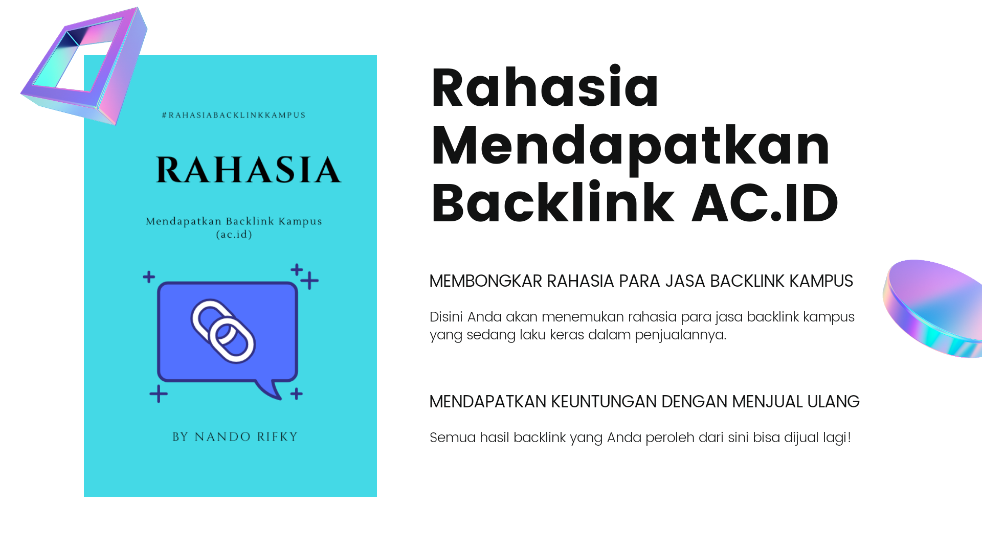 Jasa Backlink Kampus
