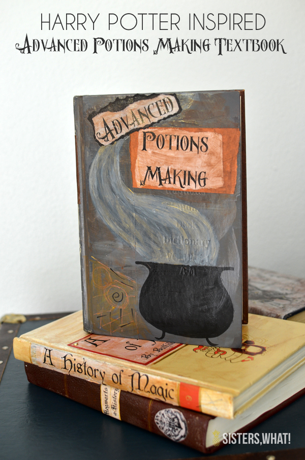 Harry Potter text book and printables